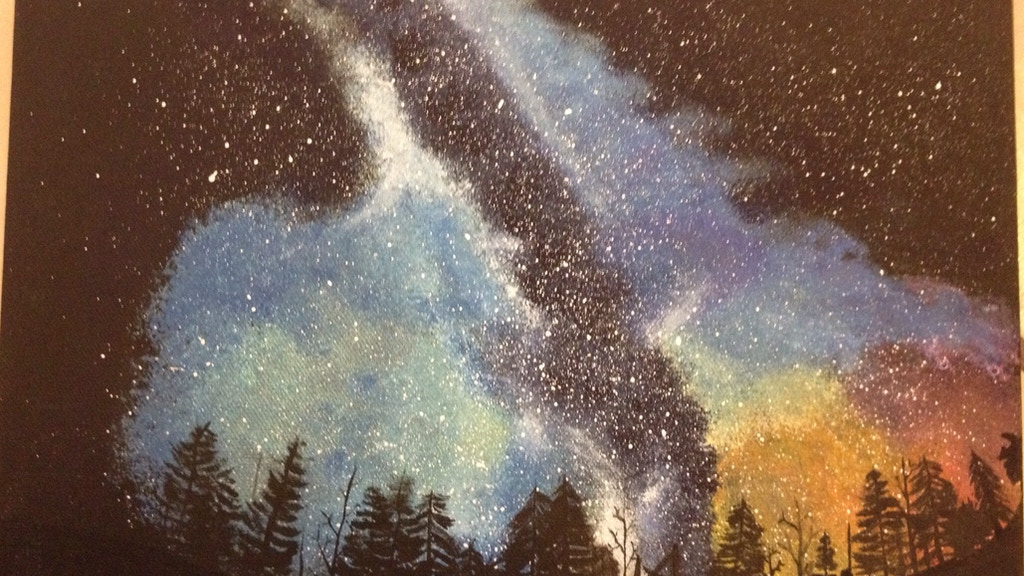Painting the Cosmos project video thumbnail