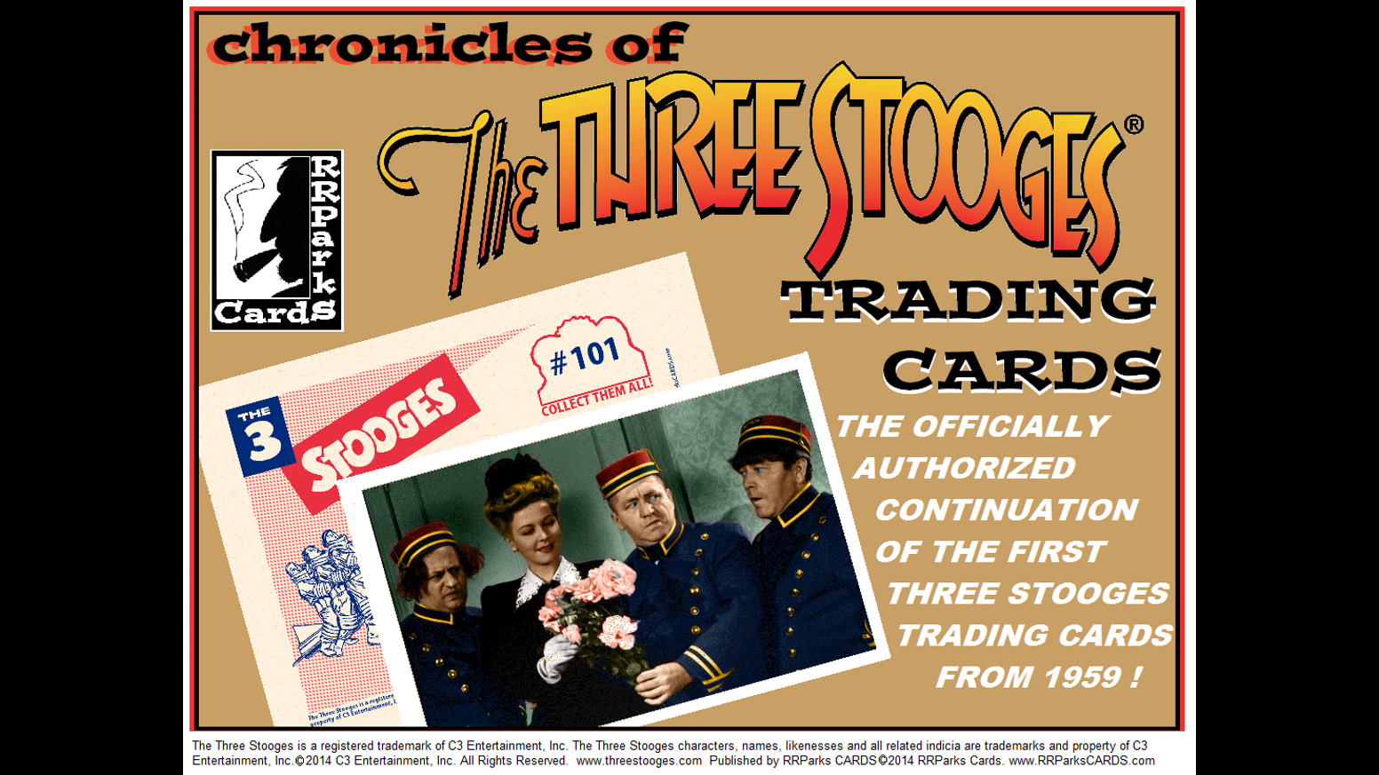chronicles of the three stooges 1950s style trading. Black Bedroom Furniture Sets. Home Design Ideas