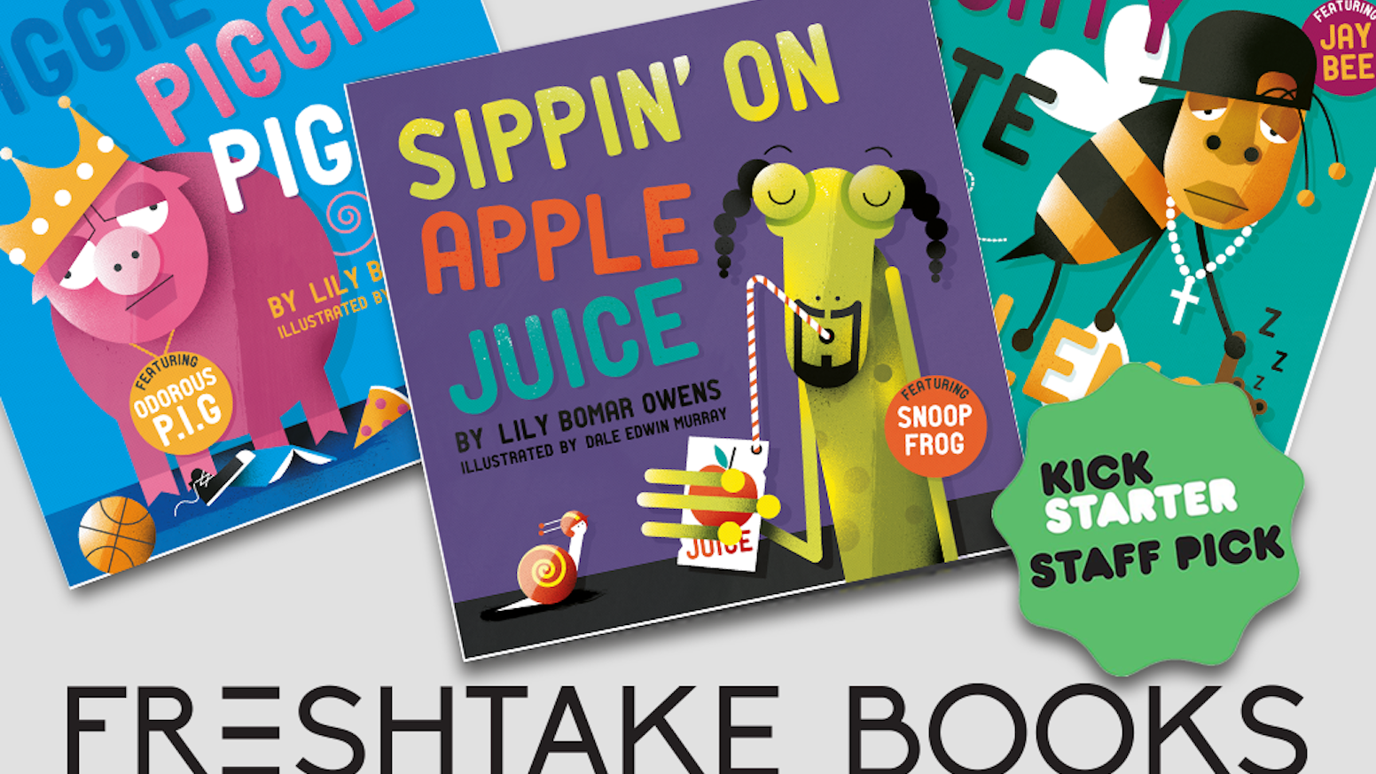 Your favorite rap songs re-imagined as kid-friendly board books. Introduce your babes to Snoop Frog, Piggie Smalls, and Jay Bee.