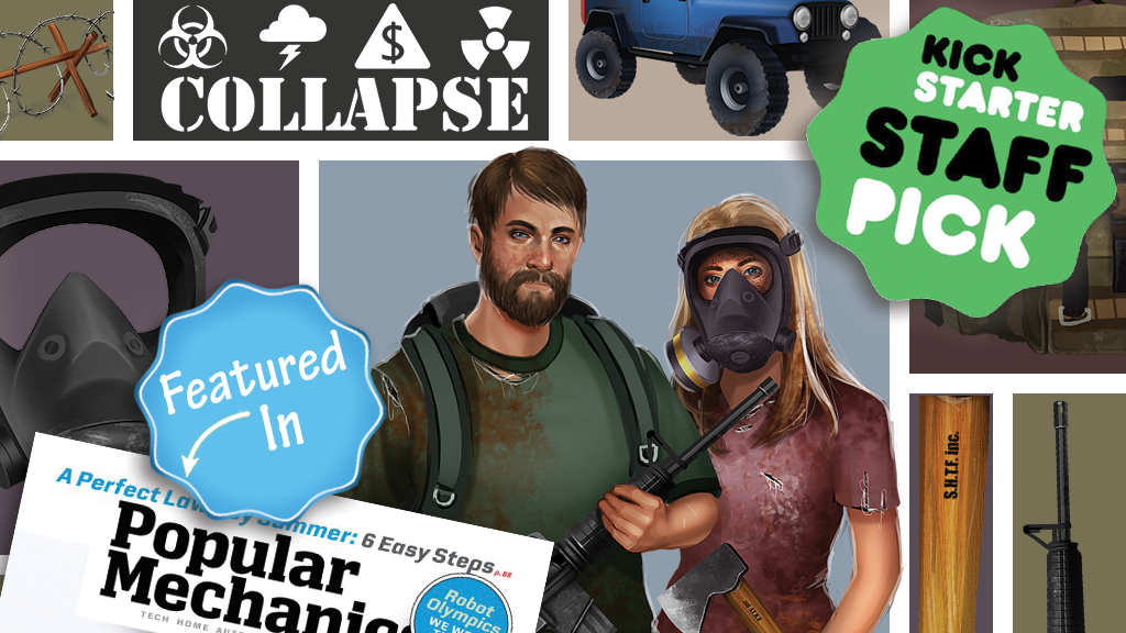 Collapse -  A Deck Building Game of Doomsday Prepping project video thumbnail