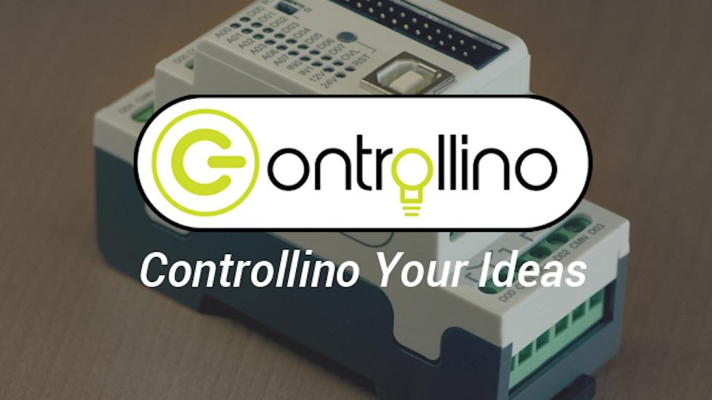 CONTROLLINO PLC (ARDUINO compatible) project video thumbnail
