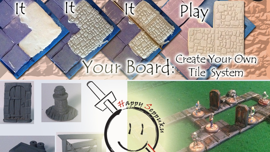 Your Board: Create Your Own Dungeon Tiles project video thumbnail