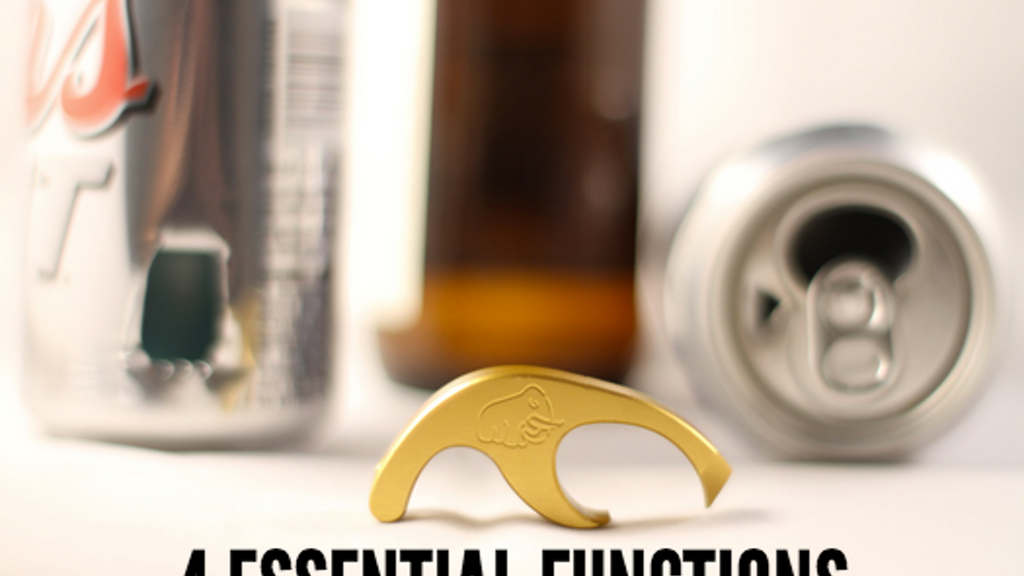 The Sabertooth. The Ultimate Beer Drinker's Tool. project video thumbnail
