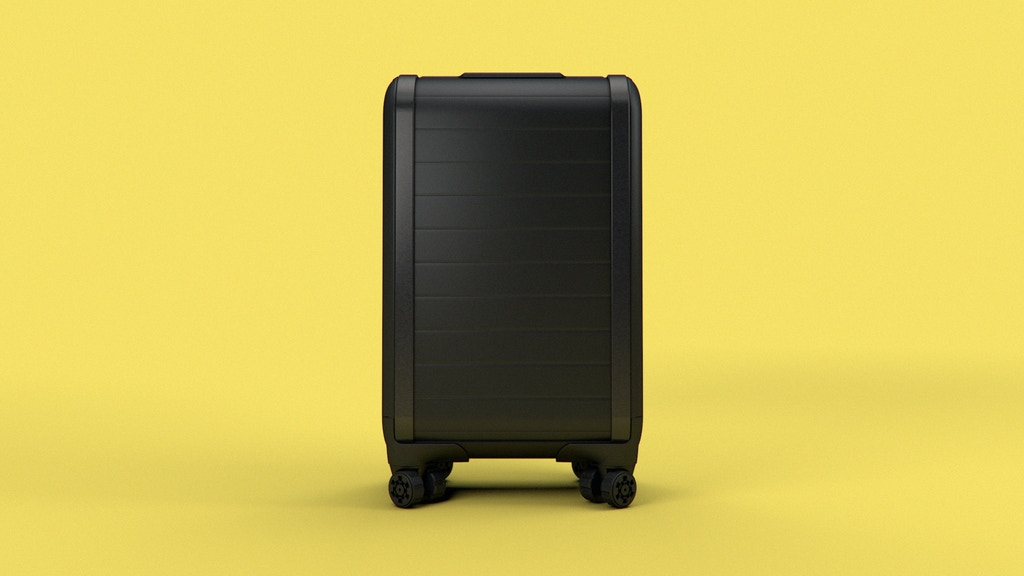 Trunkster: Zipperless Luggage with GPS + Battery + Scale project video thumbnail