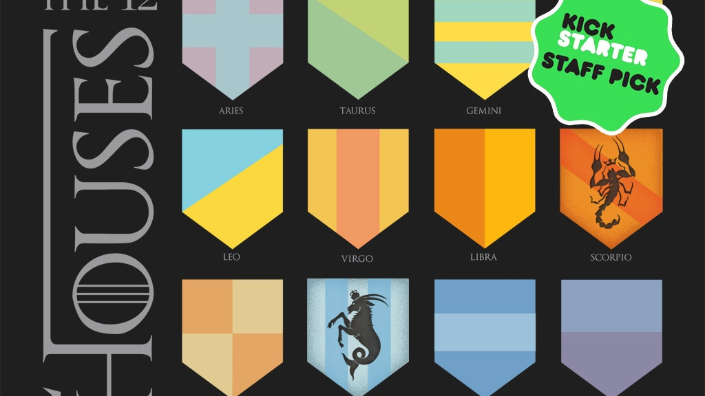 The Twelve Houses:  2015 Zodiac Calendar project video thumbnail