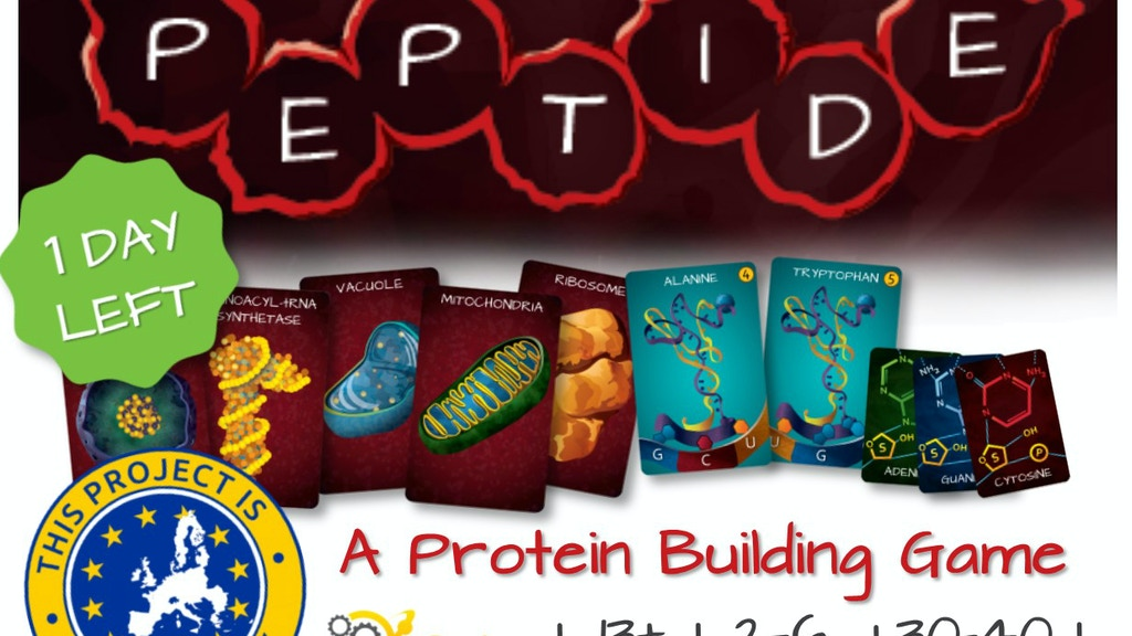 Peptide A Protein Building Game By John Coveyou Genius Games