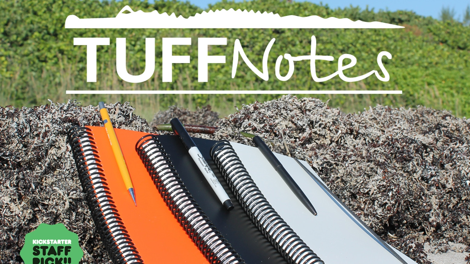 Waterproof, Incredibly Strong, Extremely Durable, Tree-free, and Made in USA notebooks designed to be used in any environment.