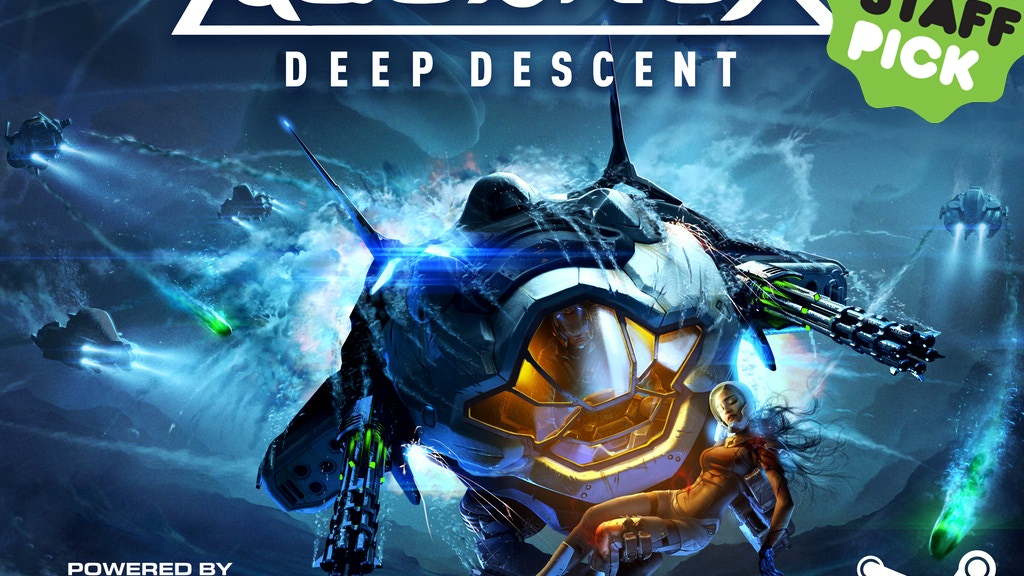 Aquanox Deep Descent project video thumbnail