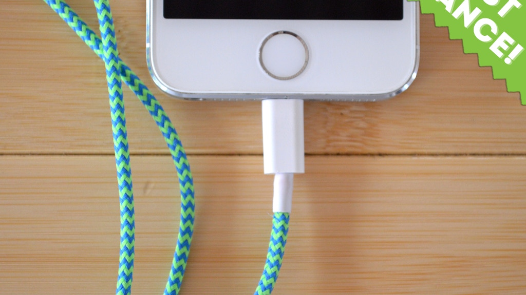 BelayCords - Reversible USB Charging Cords iPhone & Android project video thumbnail