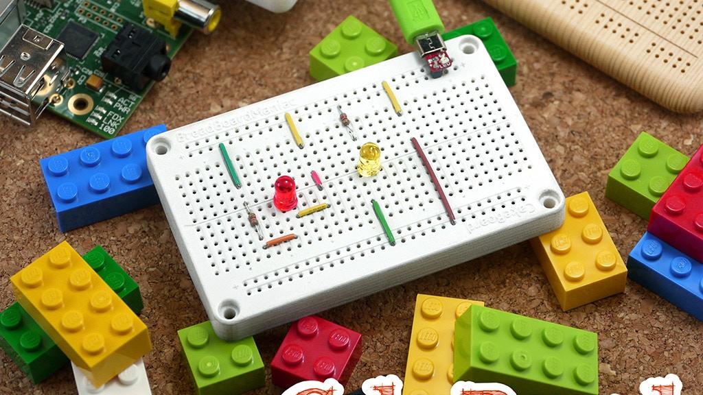 Cake Board : New LEGO® Friendly Solderless Breadboard! project video thumbnail