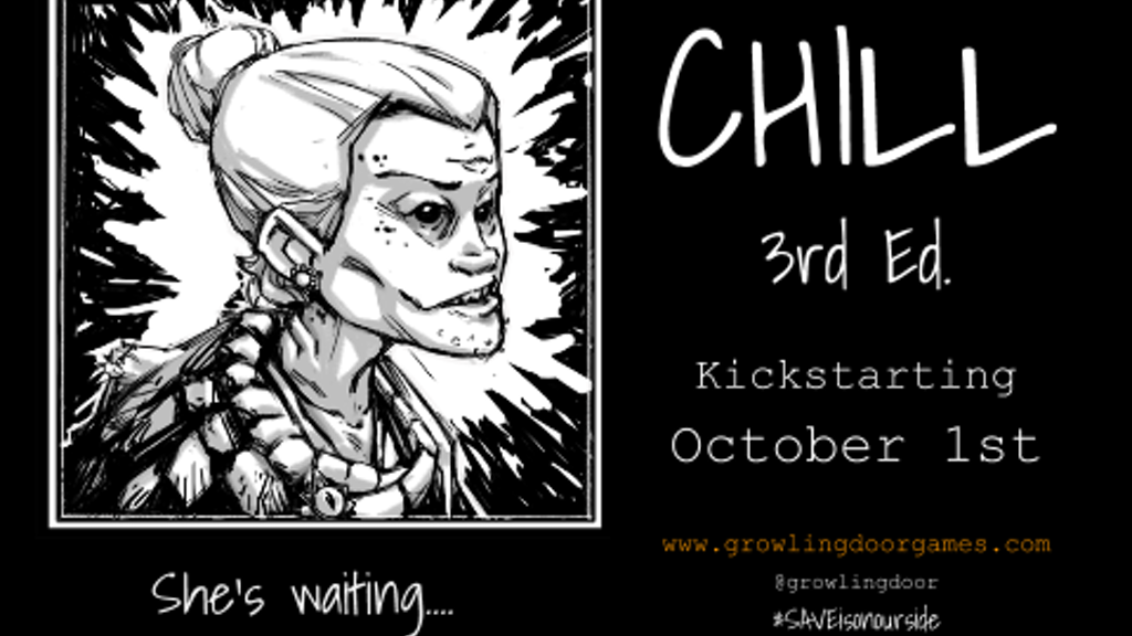 Chill 3rd Edition: A Horror Roleplaying Game project video thumbnail