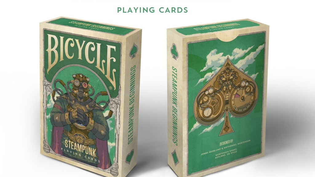Steampunk Beginnings Playing Cards. project video thumbnail