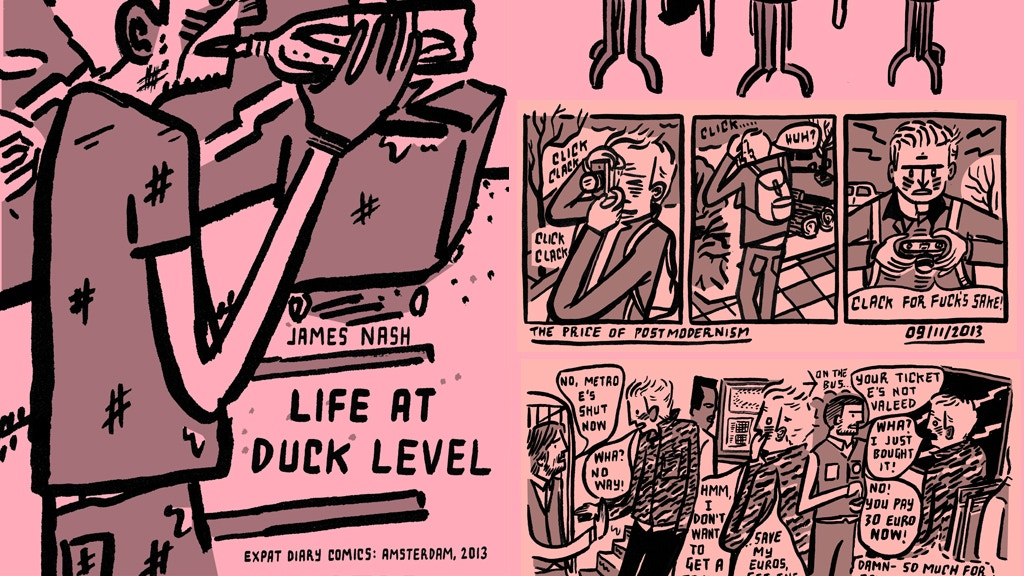Life at Duck Level: Diary Comics 2013 by James Nash project video thumbnail
