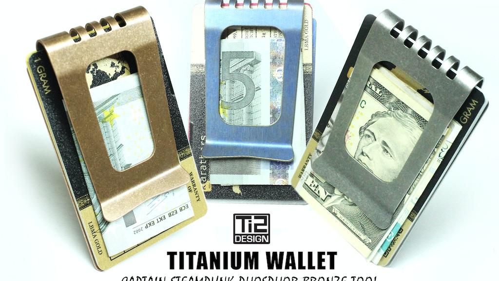 Ti2 Titanium Wallet project video thumbnail
