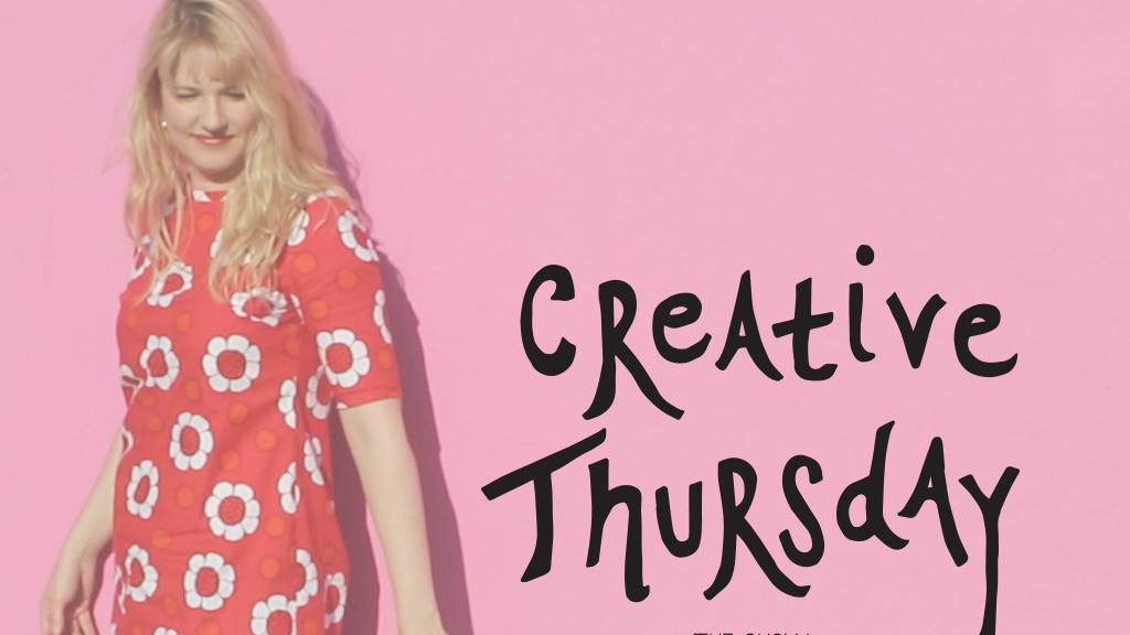 Creative Thursday {the show!} project video thumbnail
