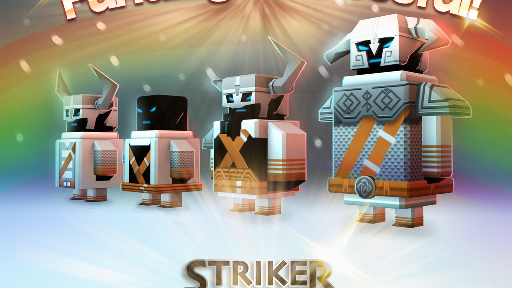 Striker Arena - Tactical-Action Soccer game project video thumbnail