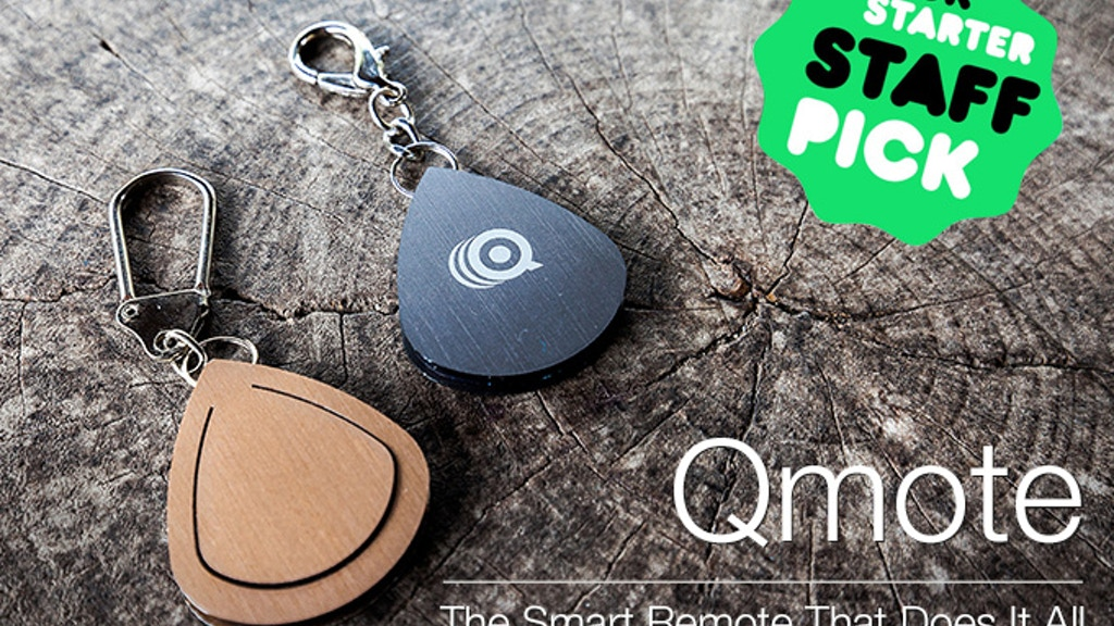 Qmote: The Water-Resistant Internet Remote for Smartphones project video thumbnail