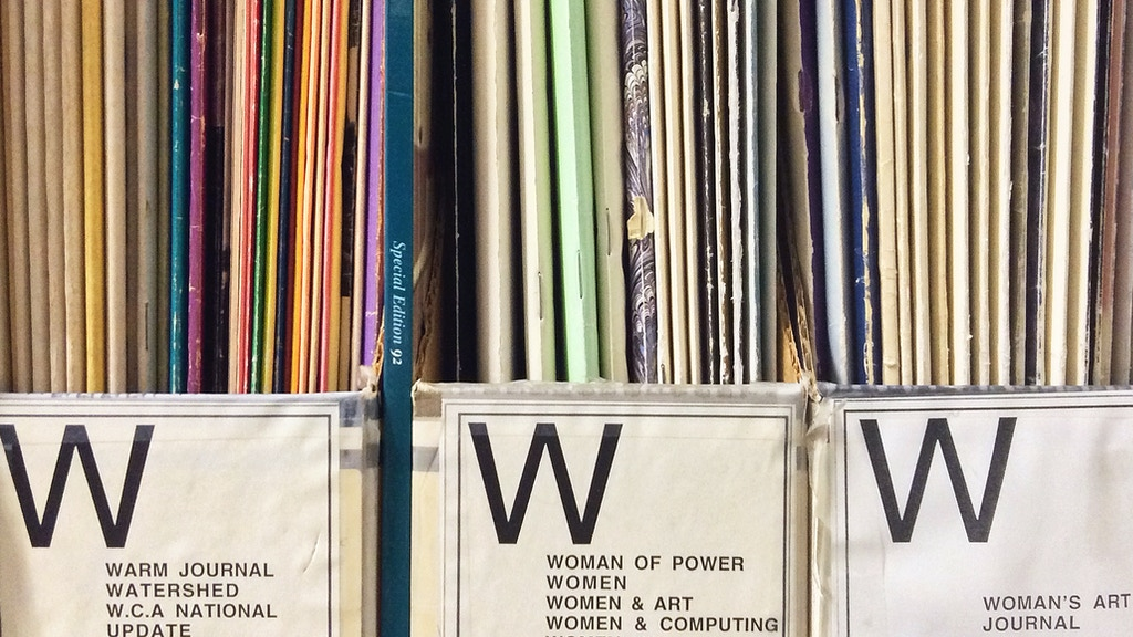 An Art Project Celebrating the Women's Art Library in London project video thumbnail