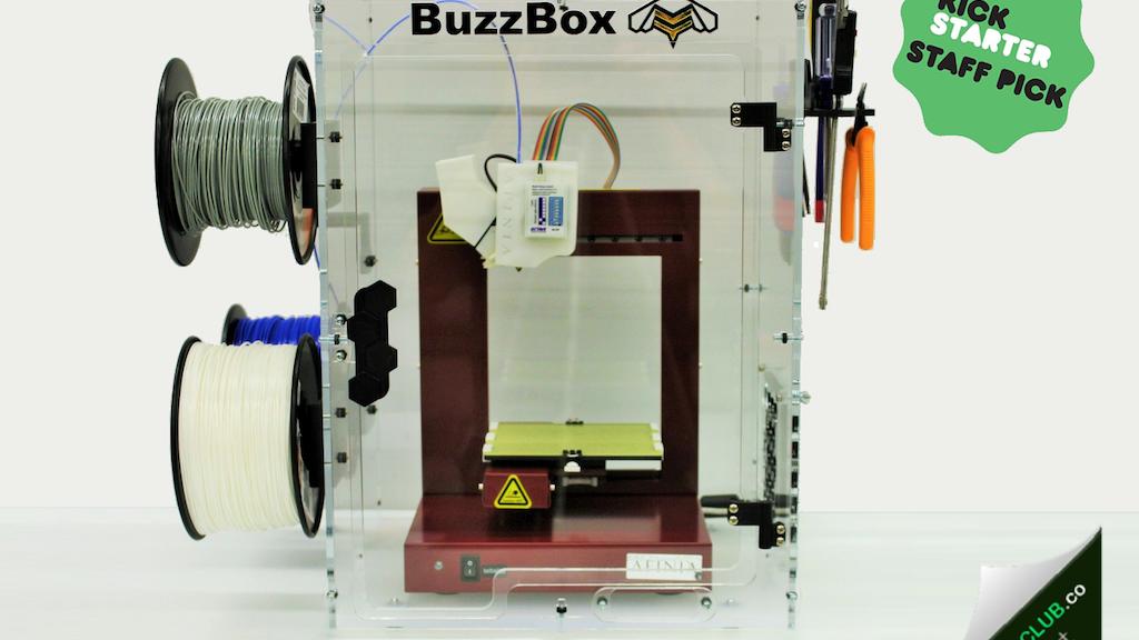 BuzzBox - 3D Printer Enclosure project video thumbnail
