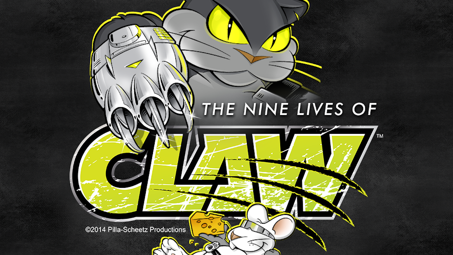 The Nine Lives of Claw: animated adventures of Claw (cat) & Edison (mouse) action, humor, music & gadgets; indie flavor & cartoon magic