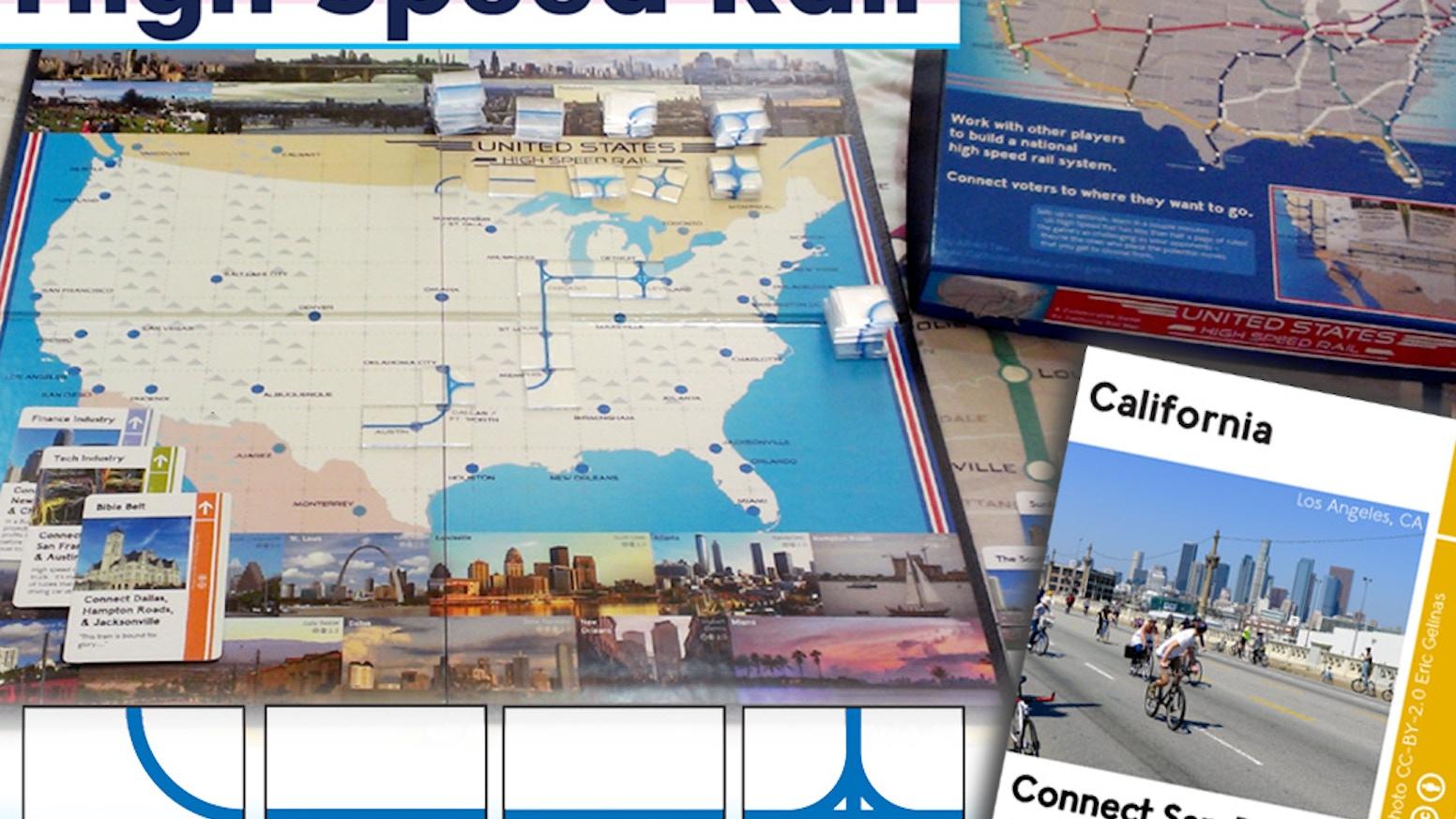 High Speed Rail Board Game by Alfred — Kickstarter