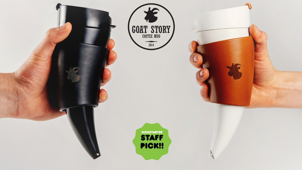 GOAT MUG: original goat story crafted into a coffee mug project video thumbnail