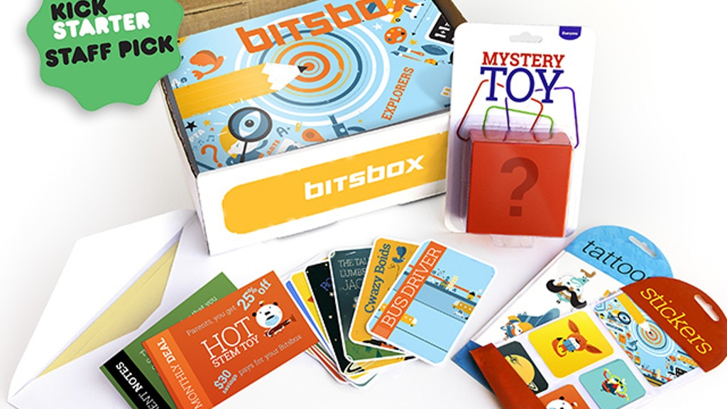 Bitsbox | monthly coding projects for kids project video thumbnail
