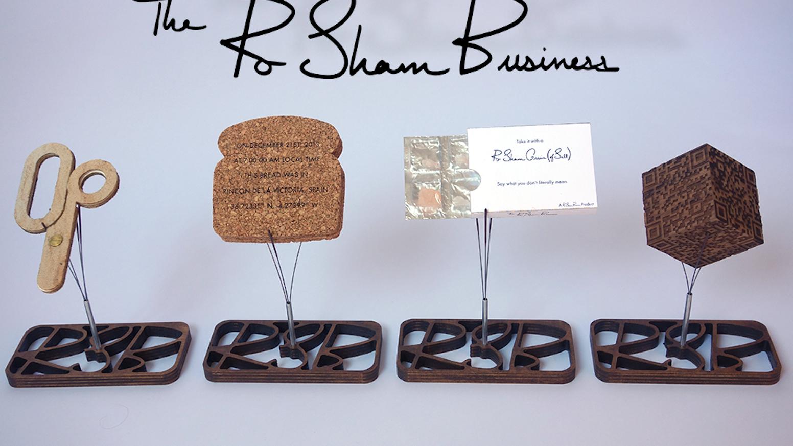The RoShamBusiness by Elliott Spelman — Kickstarter