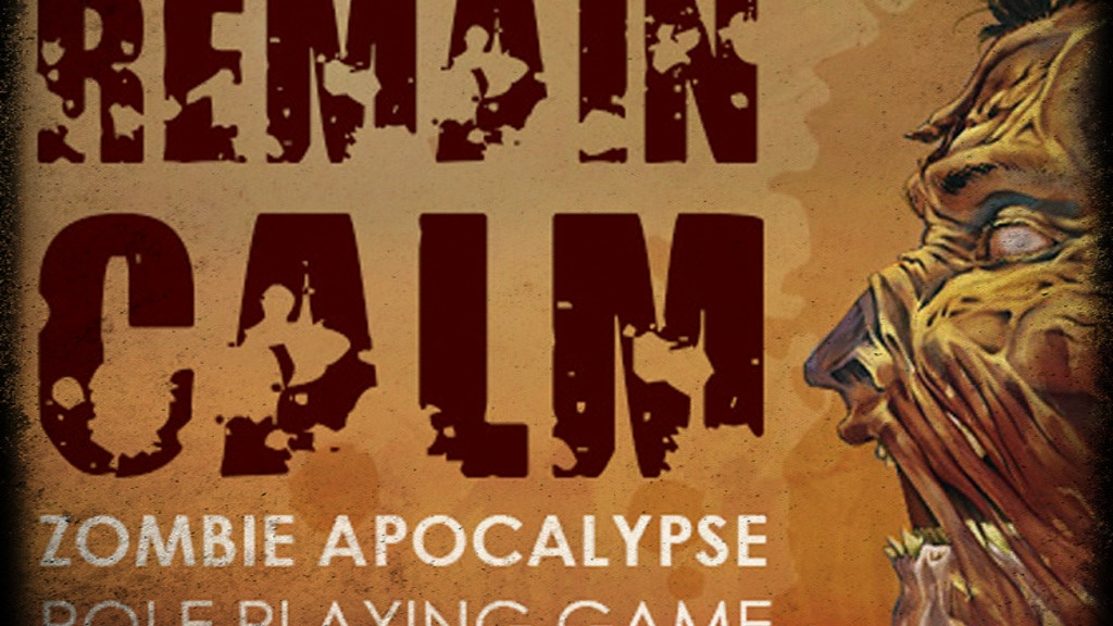 Remain Calm - Zombie Apocalypse Role Playing Game. project video thumbnail