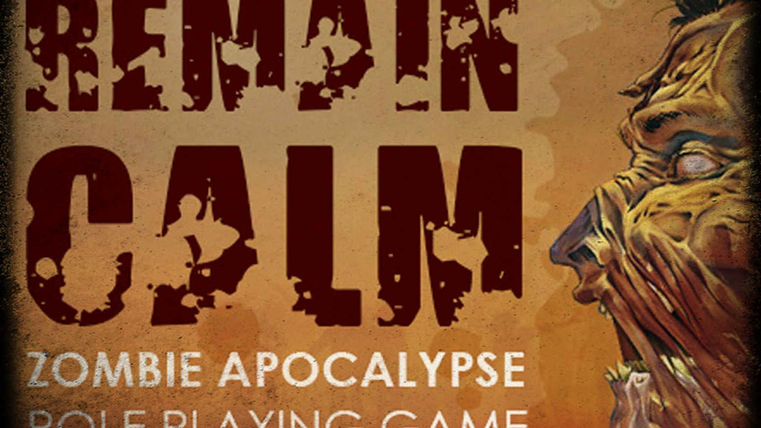 Remain Calm RPG is set in the modern zombie apocalypse. But there are no heroes here, instead your character is you.