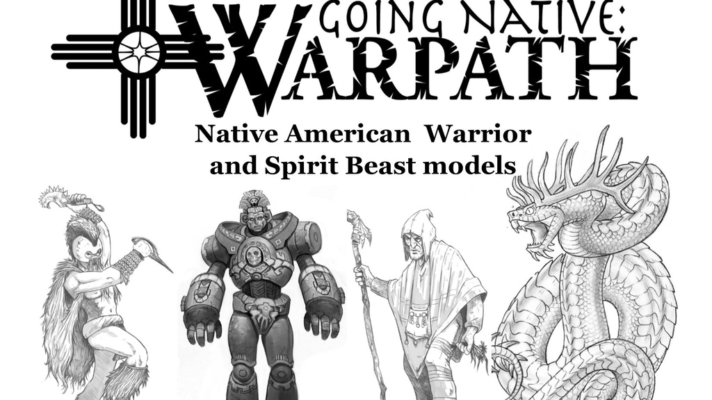 Project image for GN:W - Warrior and Spirit Beast Models