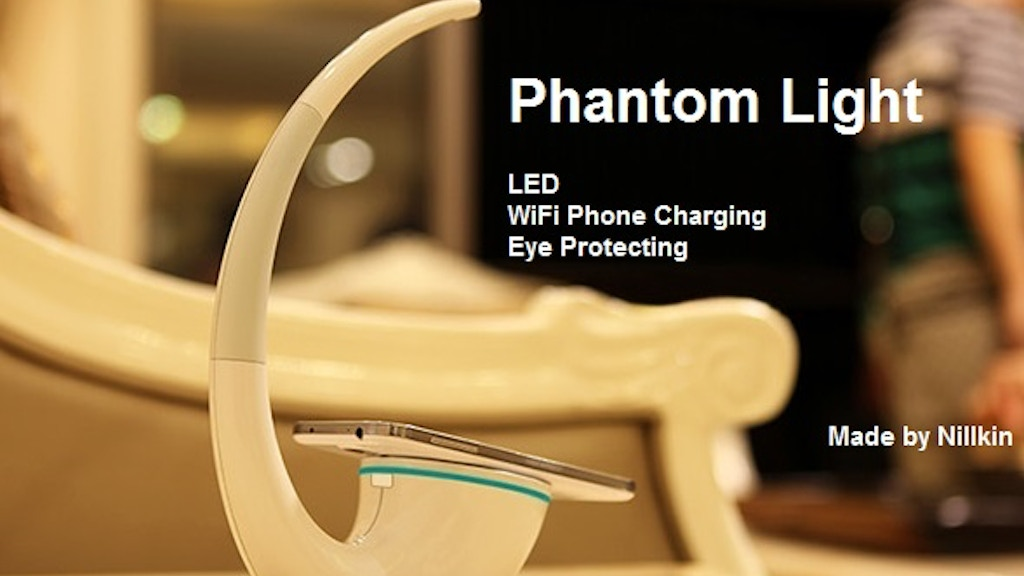 Phantom Light: LED, Eye Protecting, and WiFi Phone Charging project video thumbnail