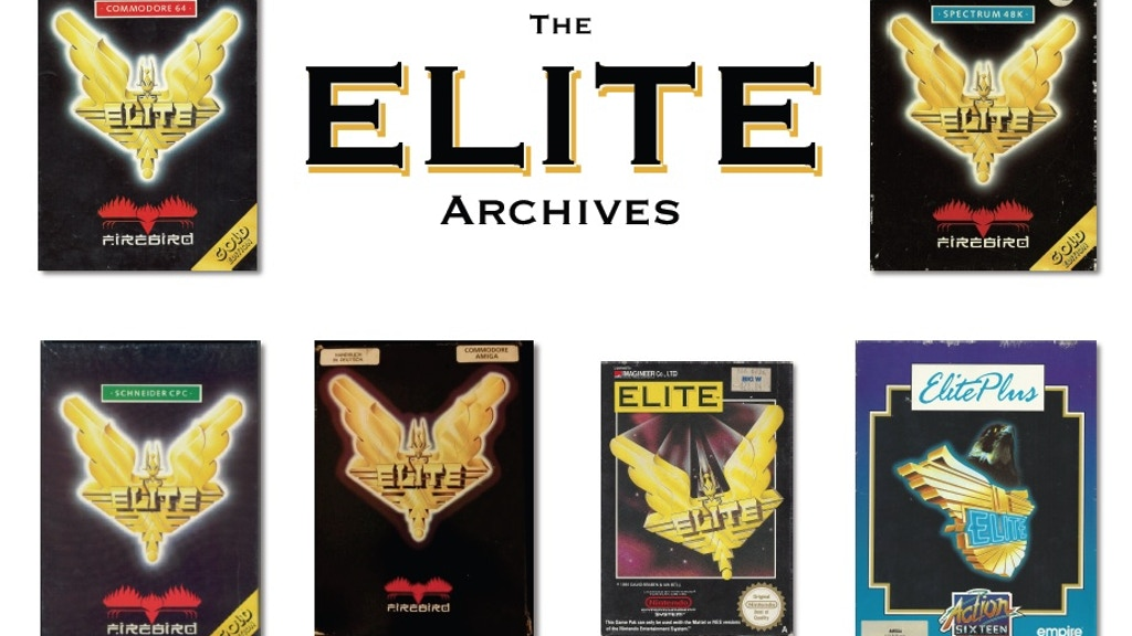 The Elite Archives Book : A 30 Year History of Elite project video thumbnail