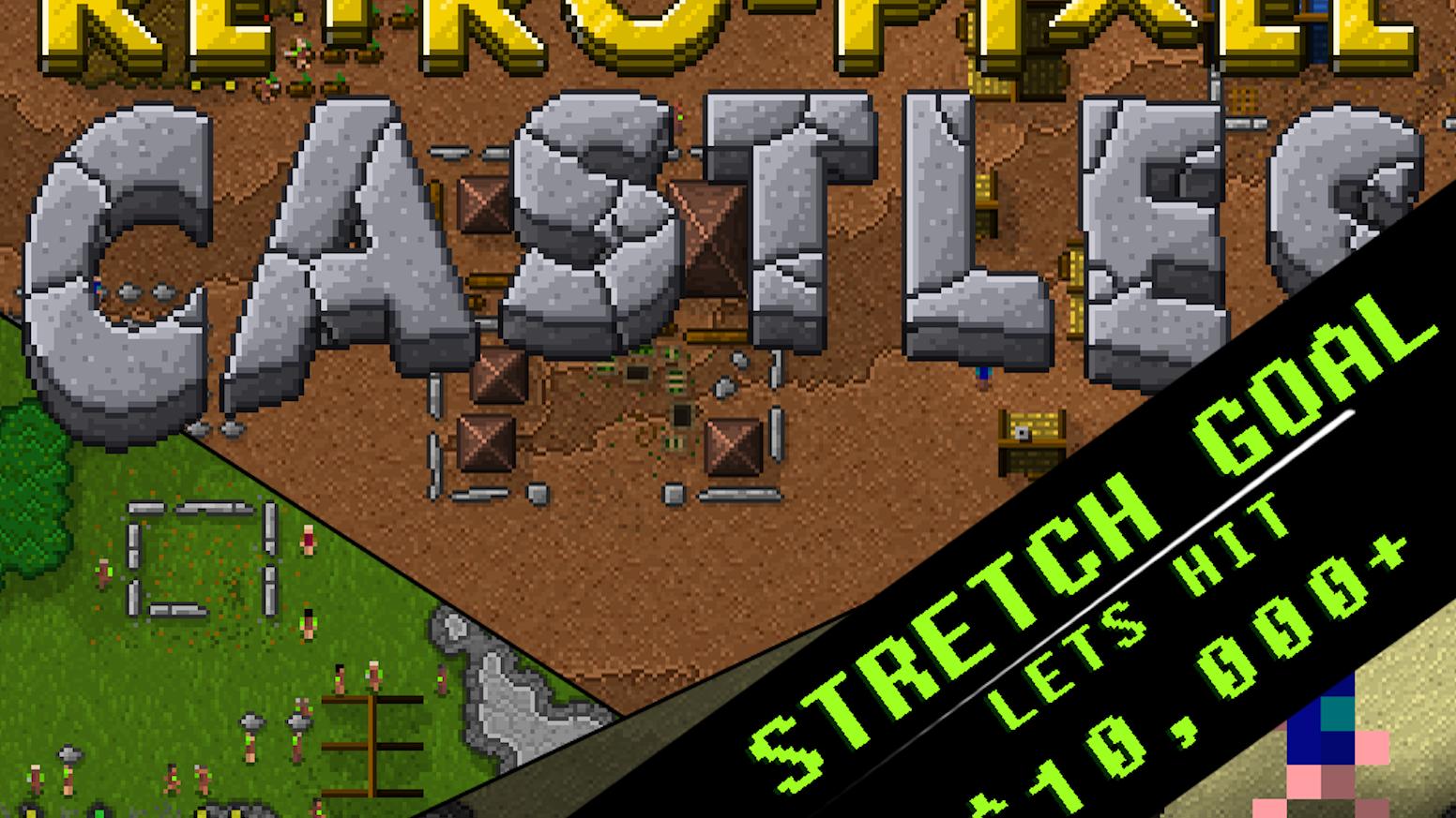 Retro-Pixel Castles - Village Survival Mayhem! by Raymond Doerr