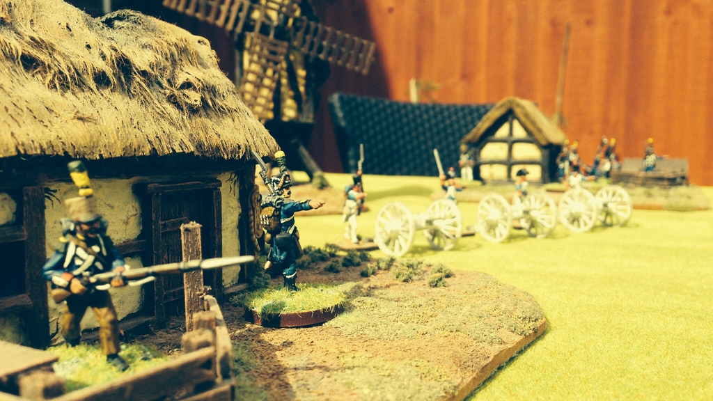 Project image for 1/56 (28mm) Napoleonic Cannons and crew with cavalry bonuses