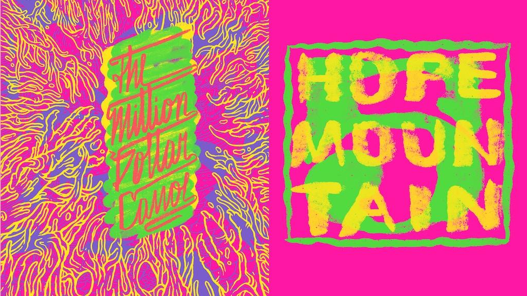Hope Mountain Vol.5: Million Dollar Canoe comics art book project video thumbnail