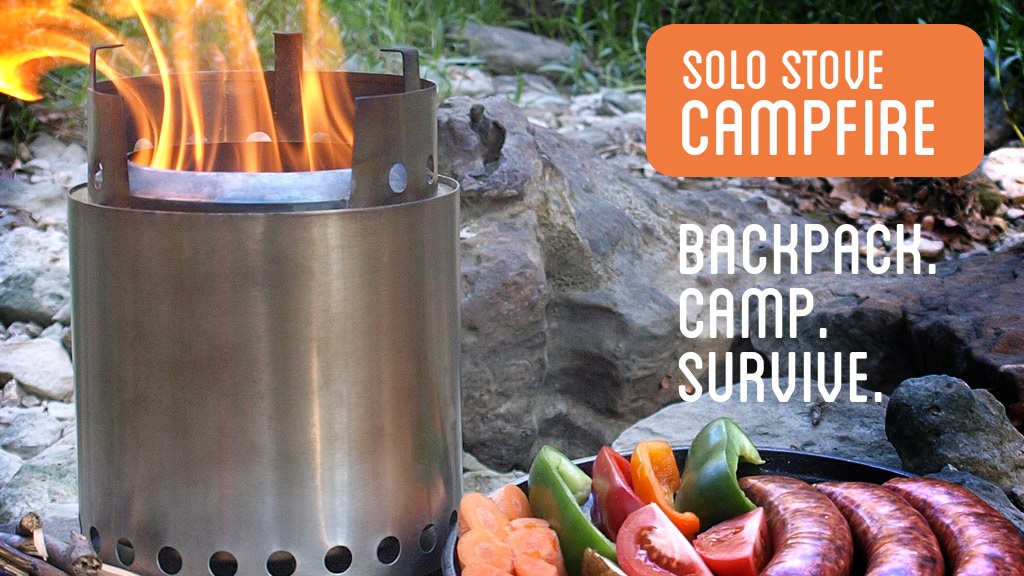 Solo Stove Campfire - Backpack. Camp. Survive. project video thumbnail