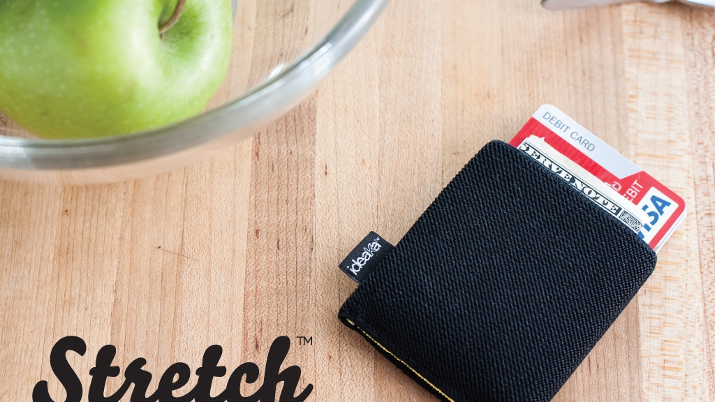 Stretch™ a wallet so minimal it barely exists project video thumbnail