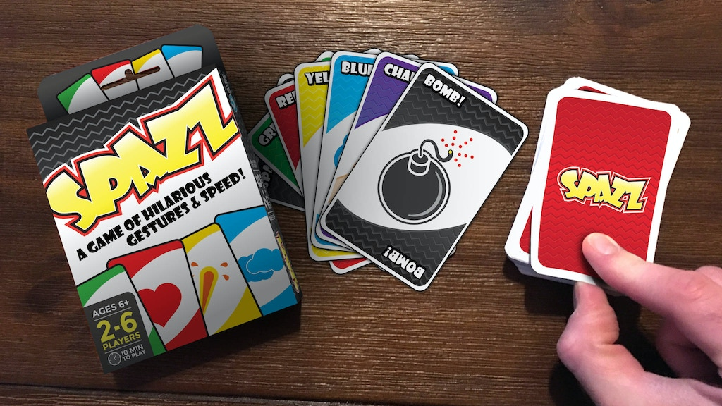 Spazz The Card Game project video thumbnail