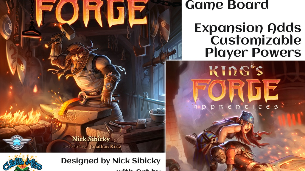 King's Forge 2nd Edition and Apprentices Expansion project video thumbnail