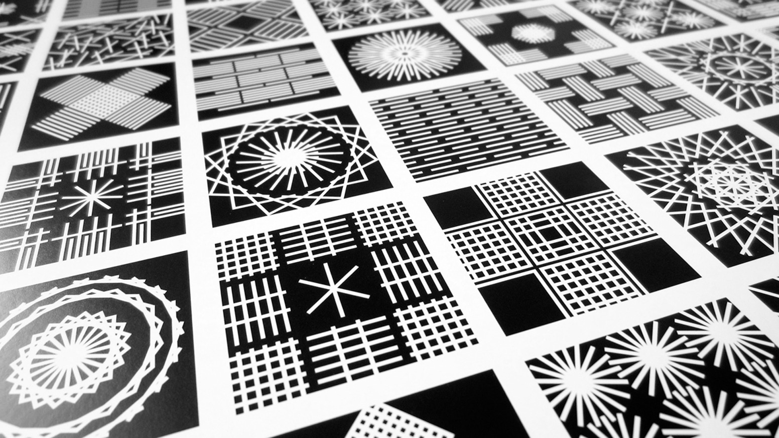 The Last One... is the final leg of the One to One Hundred design project. Each 100 panel poster represents numbers from 1 to 100.