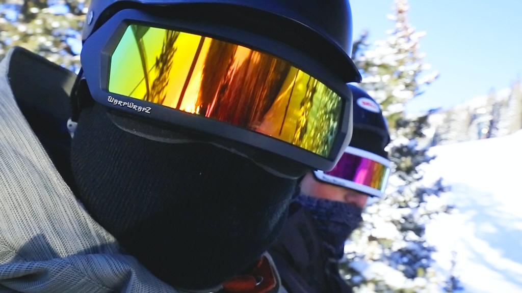 WarpWrapz, New Retro-Futuristic Goggles project video thumbnail