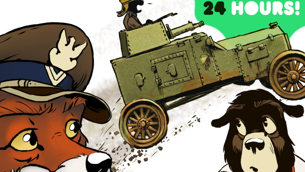 Rudek and the Bear: Volume 1 in Print project video thumbnail
