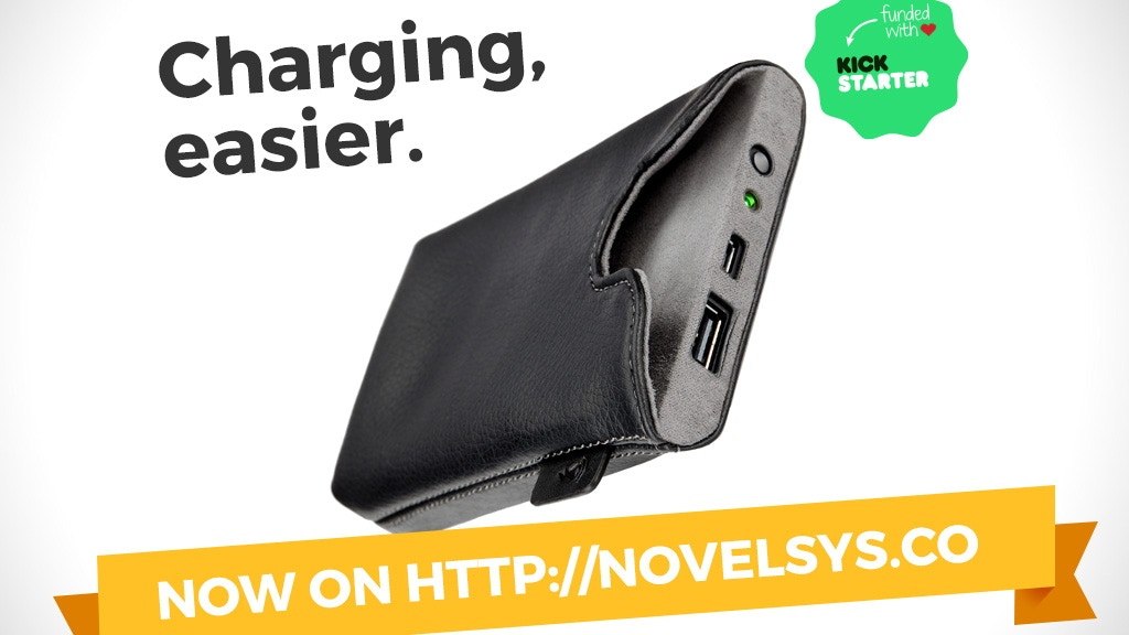 Ampere: wireless charging sleeve for iPhone and Android project video thumbnail