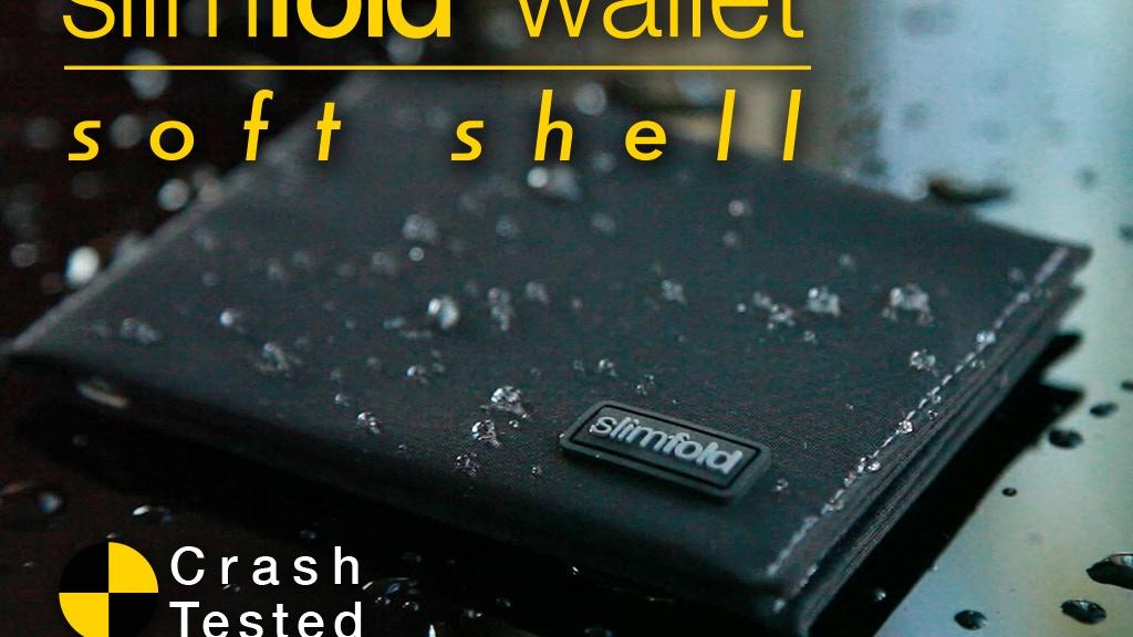 SlimFold Wallet Soft Shell: Crash-tested minimal thin wallet project video thumbnail