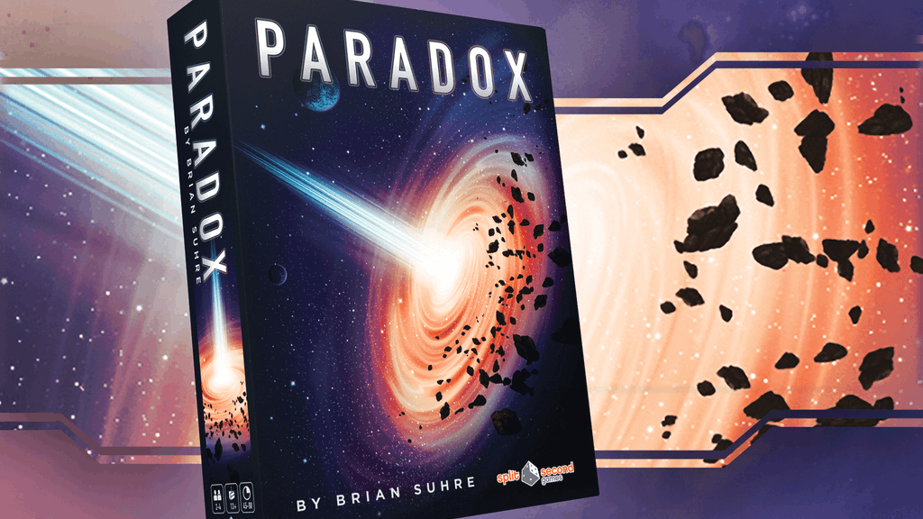 Paradox: A Sci-Fi Puzzle Boardgame project video thumbnail