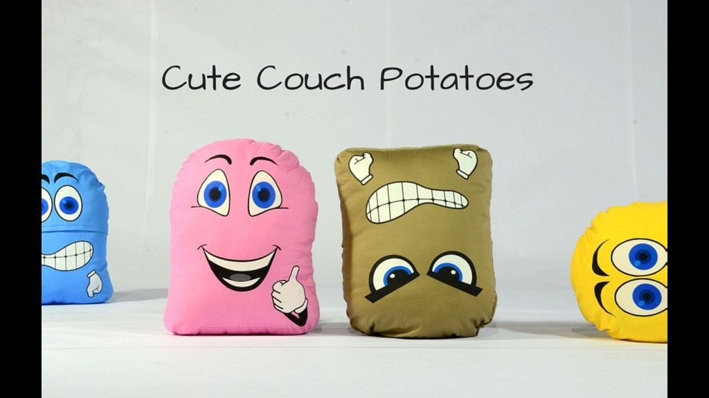 The Moody Dudes Cute Couch Potatoes By Victoria Khoury