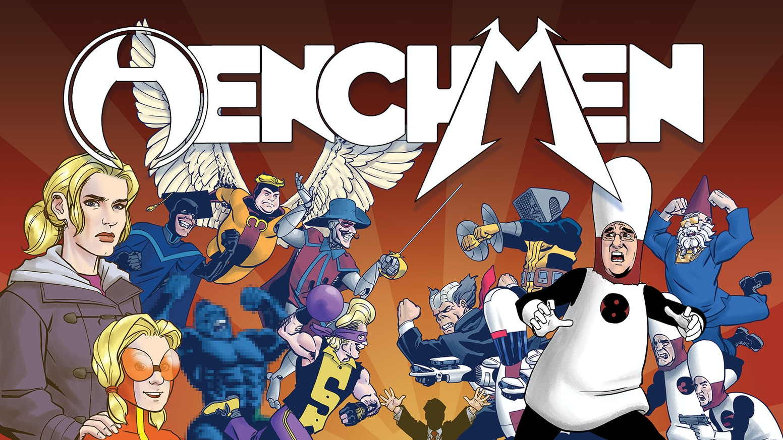 This graphic novel collects the first seven issues of Henchmen & other stories. Includes the entire I, Henchbot series and prequels!