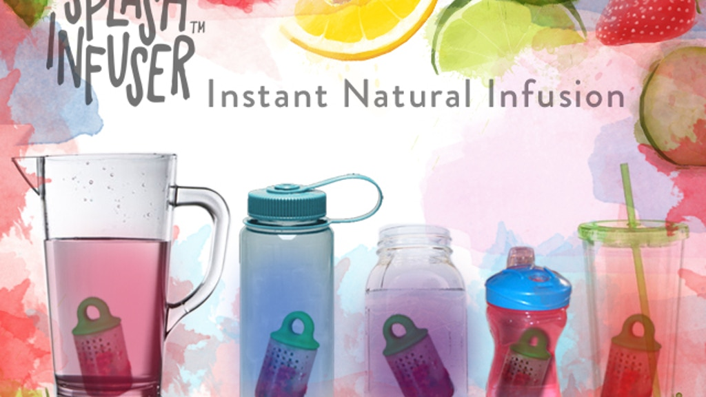 Splash Infuser: Instantly Infuse your water or alcohol! project video thumbnail
