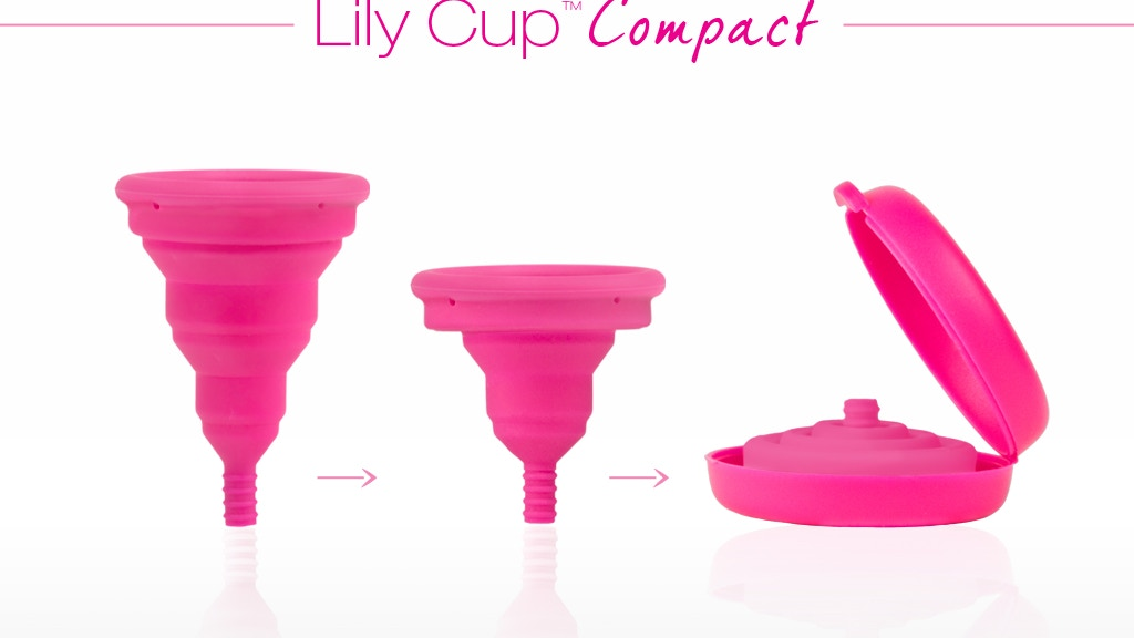 The Menstrual Cup, Reinvented | Lily Cup Compact project video thumbnail